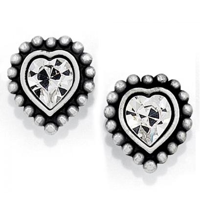 Picture of Brighton Shimmer Heart Mini Post Earrings