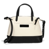 Picture of Brighton Audrey Satchel - Black/White