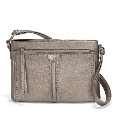 Picture of Brighton Jagger Crossbody Organizer - Zinc