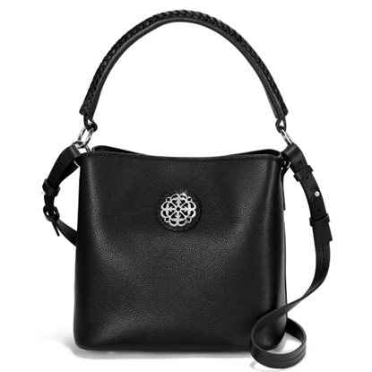 Picture of Brighton Noelle Crossbody Bucket Bag - Black