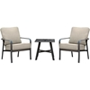 Picture of Hanover Cortino 3-Piece Commercial-Grade Patio Seating Set