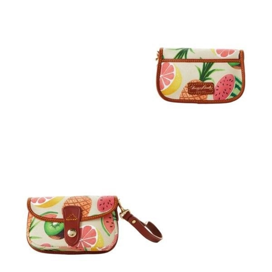 Picture of Dooney & Bourke™ Ambrosia Snap Flap Wristlet