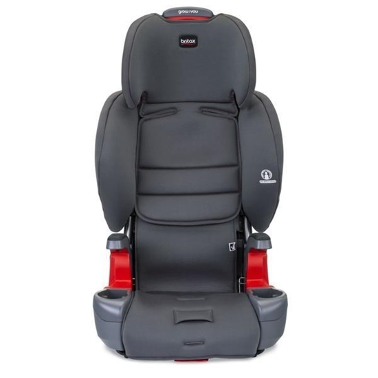 Picture of Britax Grow with You Harness-2 Booster Seat- Pebble