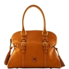 Picture of Dooney & Bourke™ Florentine Domed Buckle Satchel - Natural