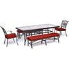 Picture of Hanover Traditions 5-Piece Outdoor Dining Set