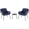 Picture of Hanover Naya 3-Piece Chat Set with Cushions