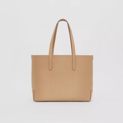 Picture of Burberry Embossed Monogram Motif Leather Tote