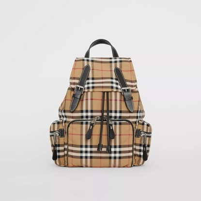 Picture of Burberry Medium Vintage Check Backpack