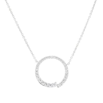 Picture of Nadri Open Circle Pendant Necklace