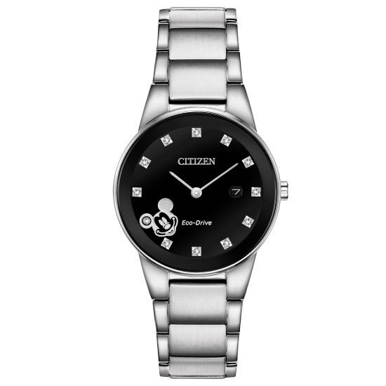 Picture of Citizen Ladies' Mickey Diamond Stainless Steel Watch