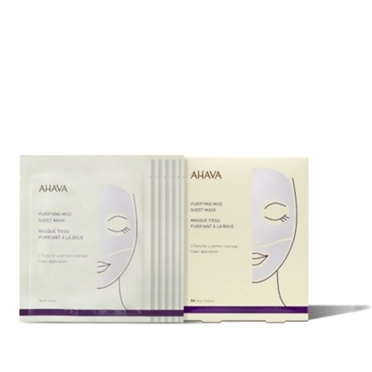 Picture of AHAVA Purifying Mud Sheet Mask - Pack of 6