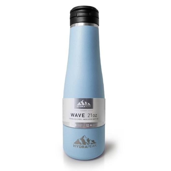 Picture of HydraPeak 21oz. Wave Stainless Steel Water Bottle