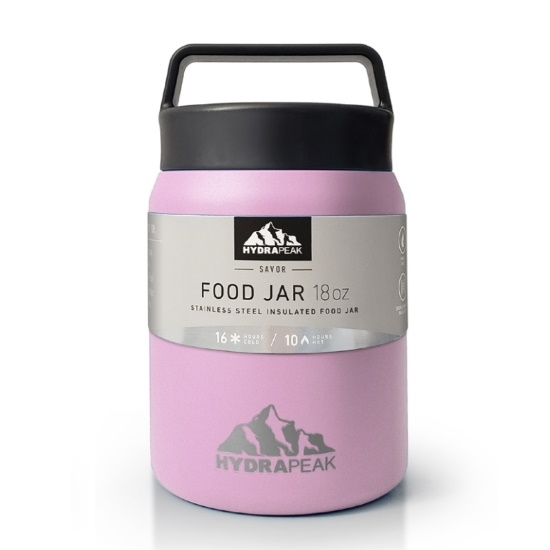 Picture of HydraPeak 18oz. Double Wall Stainless Steel Food Jar