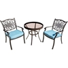 Picture of Hanover Traditions 3-Piece Bistro Set