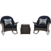 Picture of Hanover San Marino 3-Piece Rocking Chat Set