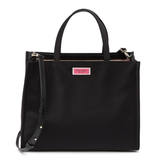 Picture of Kate Spade Sam Nylon Large Satchel - Black