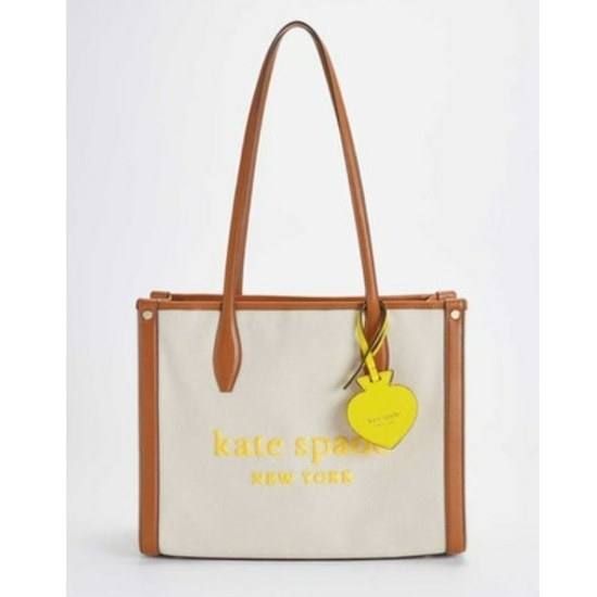 Picture of Kate Spade Market Canvas Large Tote - Natural