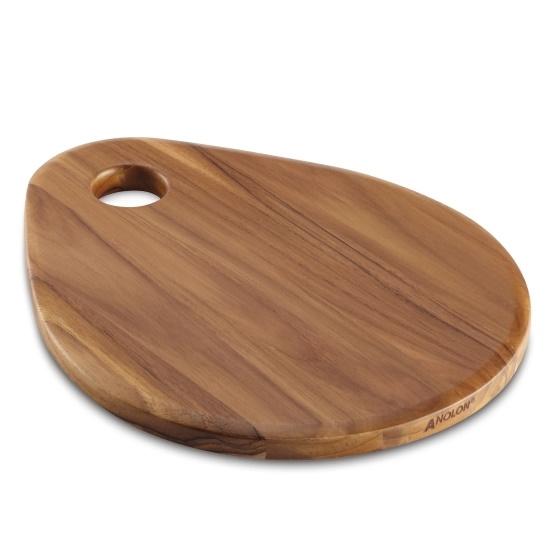 Picture of Anolon® Teardrop Teak Wood Cutting Board