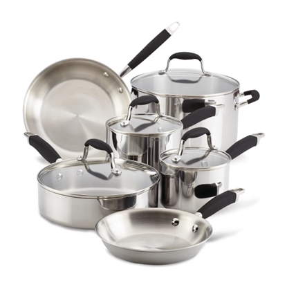 Picture of Anolon® Advanced Tri-Ply 10-Piece Cookware Set - Onyx