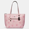 Picture of Coach Pansy Print Taylor Tote