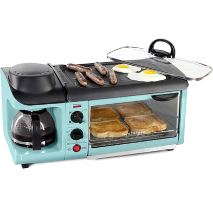 Picture of Nostalgia Breakfast Station Toaster/Coffeemaker/Griddle