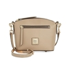 Picture of Dooney & Bourke™ Beacon Domed Crossbody - Light Taupe