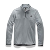 Picture of The North Face® Women's TKA Glacier Quarter-Zip Pullover - Mid Grey