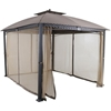 Picture of Hanover Aster Aluminum and Steel Gazebo with Netting