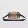 Picture of Burberry Mini Vintage Check & Leather Camera Bag