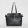 Picture of Burberry Medium Soft Black Leather Belt Tote