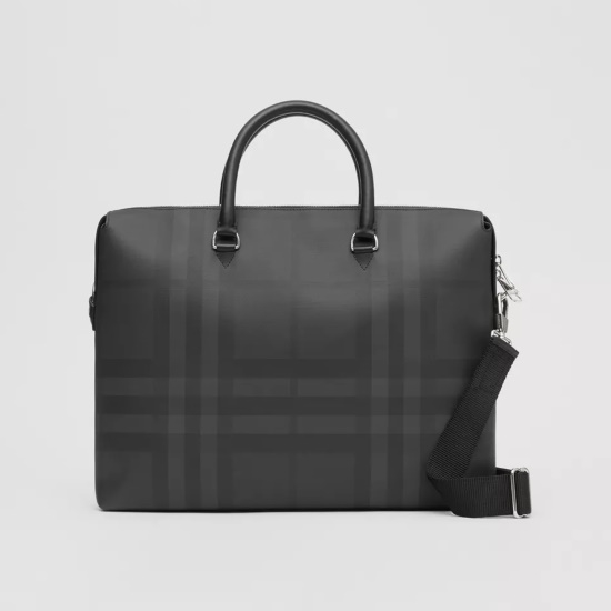 Picture of Burberry Charcoal Briefcase