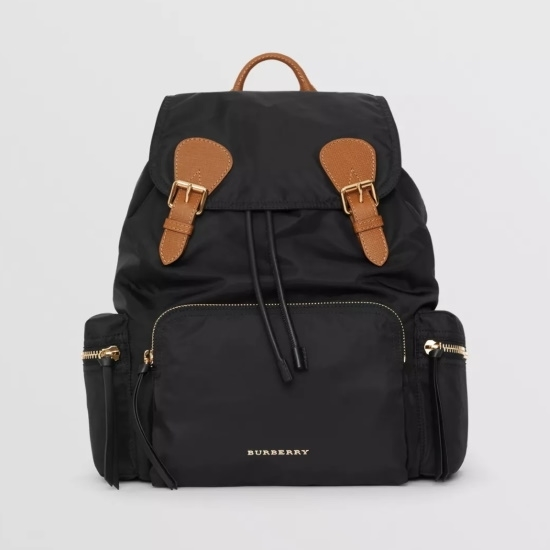 Picture of Burberry Rucksack Nylon Backpack - Black