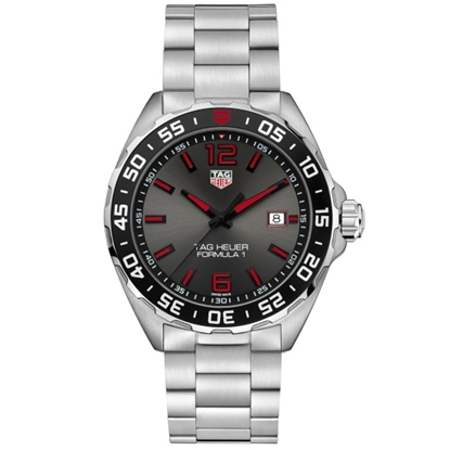 Picture of TAG Heuer Formula 1 Stainless Steel Watch with Black/Red Dial