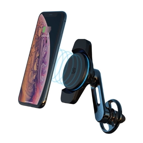Picture of Scosche Qi Wireless Charging Magnetic Mount Vent