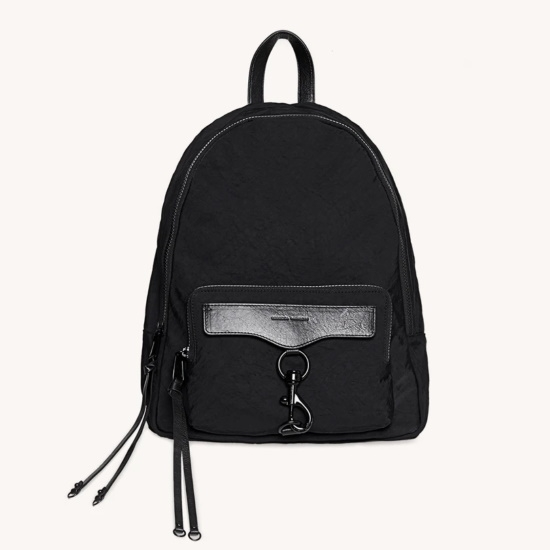 Picture of Rebecca Minkoff MAB Nylon Backpack with Black Hardware
