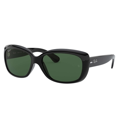 Picture of Ray-Ban® Jackie OHH Sunglasses - Black/Green
