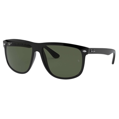 Picture of Ray-Ban® Highstreet Nylon Polarized Sunglasses - Blk/Green