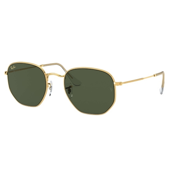 Picture of Ray-Ban® Hexagonal Legend Sunglasses - Gold/Green