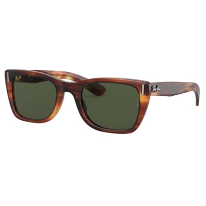 Picture of Ray-Ban® Caribbean Sunglasses - Striped Havana/Green