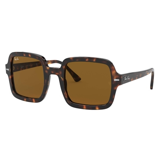 Picture of Ray-Ban® Oversized Square Sunglasses - Havana/Brown