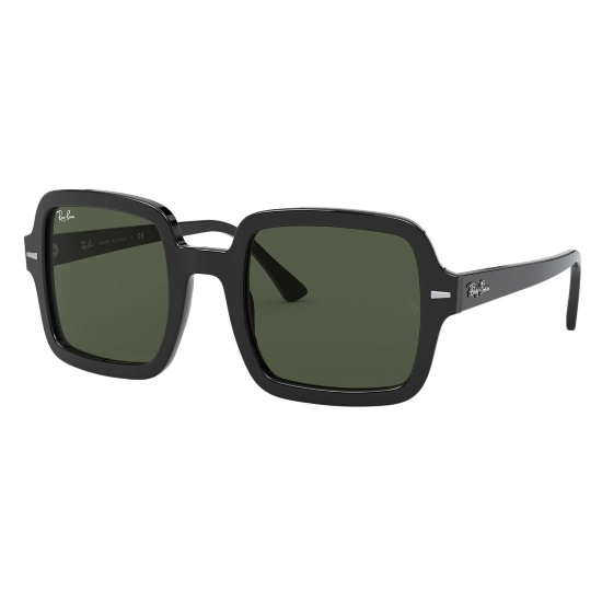 Picture of Ray-Ban® Oversized Square Sunglasses - Black/Grey