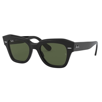 Picture of Ray-Ban® State Street Sunglasses - Black/Green