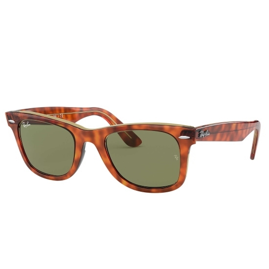 Picture of Ray-Ban® Wayfarer Sunglasses - Light Havana/Green