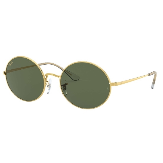 Picture of Ray-Ban® Oval Legend Sunglasses - Gold/Green