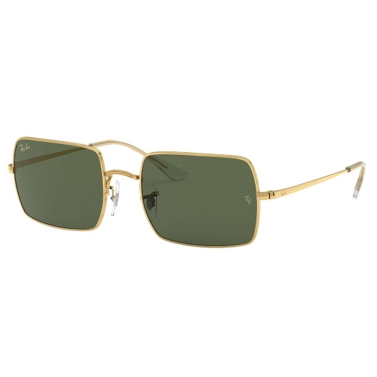 Picture of Ray-Ban® Rectangle Legend Sunglasses - Gold/Green