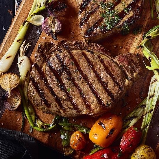 Picture of Kansas City Steaks 10oz. Boneless Ribeye Steaks - Set of 6