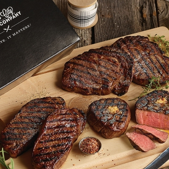 Picture of Kansas City Steaks Classic Steak Sampler Gift Box