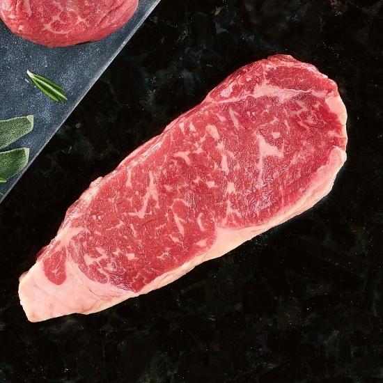 Picture of Kansas City Steaks 12oz. USDA Prime Boneless Strips - Set of 4