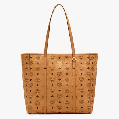Picture of MCM Toni Visetos Shopper Medium