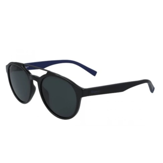 Picture of Salvatore Ferragamo Pilot Nylon Sunglasses - Black/Dark Blue